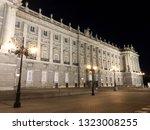 view on palacio real or palacio ...   Shutterstock . vector #1323008255