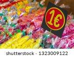 assorted candies in the...   Shutterstock . vector #1323009122
