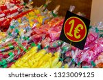 candies and confectionaries at... | Shutterstock . vector #1323009125