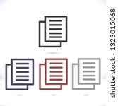 files  vector icon