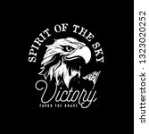 eagle sketch for tattoo or t...   Shutterstock .eps vector #1323020252