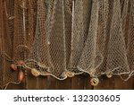 Fishing Net Is Hanging On The...