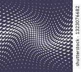 geometric halftone vector...   Shutterstock .eps vector #1323076682