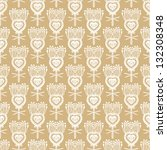 seamless vector pattern with... | Shutterstock .eps vector #132308348
