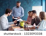 human resource manager training ... | Shutterstock . vector #1323093338
