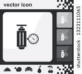 pressure sensor on factory... | Shutterstock .eps vector #1323111065
