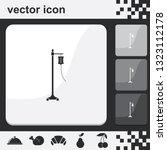 drop counter flat set of... | Shutterstock .eps vector #1323112178