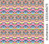 beautiful colorful seamless...   Shutterstock .eps vector #1323140675
