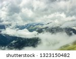 summer mountains green grass... | Shutterstock . vector #1323150482