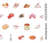 food images. background for... | Shutterstock .eps vector #1323154355