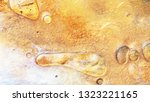 colorful sparkling paints mix... | Shutterstock . vector #1323221165