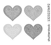 6 Inch Wide Vector Heart Shaped ...