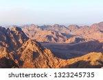 mount sinai  egypt  08 23 10  ... | Shutterstock . vector #1323245735
