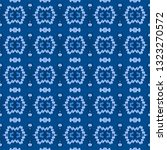 indigo seamless embroidery... | Shutterstock . vector #1323270572