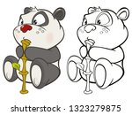 vector illustration of a cute...   Shutterstock .eps vector #1323279875