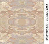 quirky tapestry pattern.... | Shutterstock .eps vector #1323281255