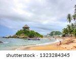 tyrona park  colombia   10 31... | Shutterstock . vector #1323284345