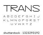 font logo. modern design vector ...   Shutterstock .eps vector #1323293192