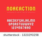 vector latin uppercase alphabet ... | Shutterstock .eps vector #1323293258