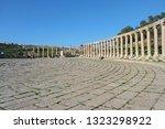 ancient city of gerasa  jerash. ... | Shutterstock . vector #1323298922