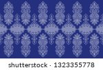 seamless traditional indian... | Shutterstock . vector #1323355778