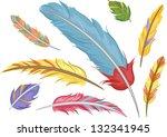 illustration of colorful... | Shutterstock .eps vector #132341945