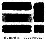 grunge paint roller . vector... | Shutterstock .eps vector #1323440912