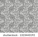 abstract geometric pattern with ... | Shutterstock .eps vector #1323443192