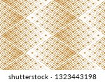 abstract geometric pattern.... | Shutterstock .eps vector #1323443198