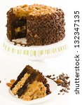 German Chocolate Cake With Two...
