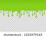 light green dripping slime... | Shutterstock .eps vector #1323479165