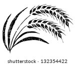 hand drawn rice | Shutterstock .eps vector #132354422