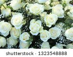 a floral wedding arrangement ... | Shutterstock . vector #1323548888