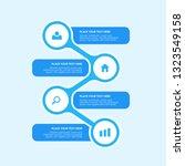 creative vector infographics... | Shutterstock .eps vector #1323549158