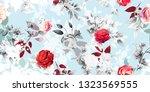 wide vintage seamless... | Shutterstock .eps vector #1323569555