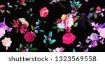 wide vintage seamless... | Shutterstock .eps vector #1323569558