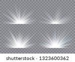 light effect stars bursts....   Shutterstock .eps vector #1323600362