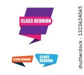 class reunion  sign  emblem ...