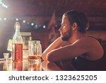 its always better to drink in... | Shutterstock . vector #1323625205