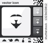 van dyke beard style. beard and ...   Shutterstock .eps vector #1323633812
