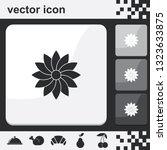 geometric flower flat set of...   Shutterstock .eps vector #1323633875