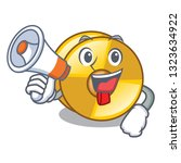 with megaphone cyamblas in the... | Shutterstock .eps vector #1323634922