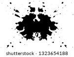 rorschach inkblot test... | Shutterstock .eps vector #1323654188