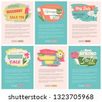 sale  discount and best offer ... | Shutterstock .eps vector #1323705968