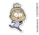 distressed sticker of a cartoon ...   Shutterstock .eps vector #1323708575