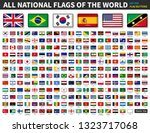 all national flags of the world ... | Shutterstock .eps vector #1323717068