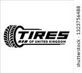 tires shop logo inspiration   Shutterstock .eps vector #1323756488