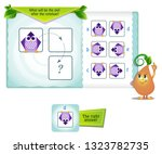educational game for kids and... | Shutterstock .eps vector #1323782735