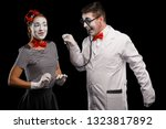 Funny Mime Doctor With...
