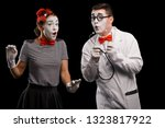 Surprised Mime Patient And...